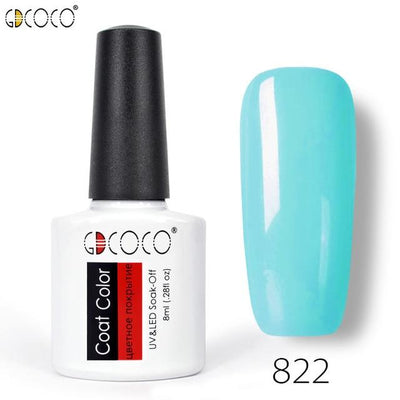 Gorgeous Nail Varnishes Gel - 822