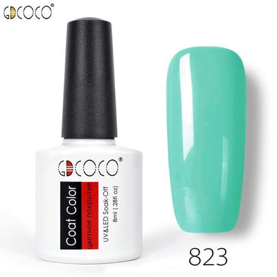 Gorgeous Nail Varnishes Gel - 823