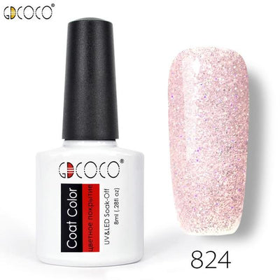 Gorgeous Nail Varnishes Gel - 824