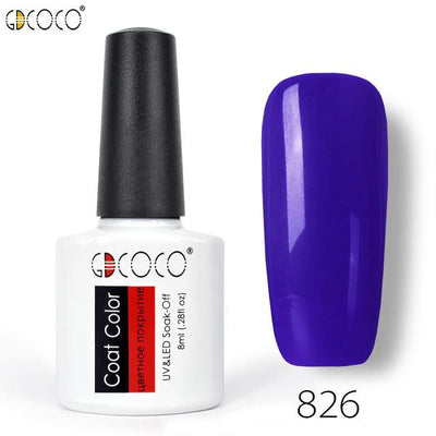 Gorgeous Nail Varnishes Gel - 826