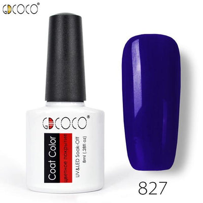 Gorgeous Nail Varnishes Gel - 827