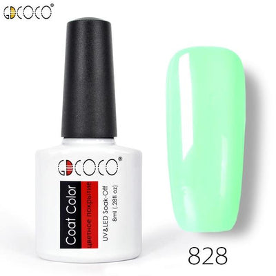 Gorgeous Nail Varnishes Gel - 828