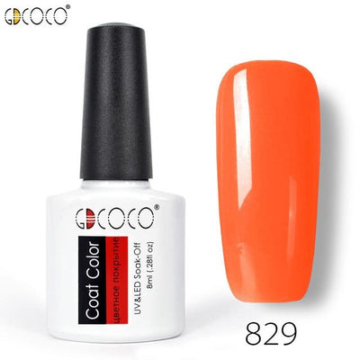 Gorgeous Nail Varnishes Gel - 829