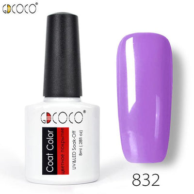 Gorgeous Nail Varnishes Gel - 832