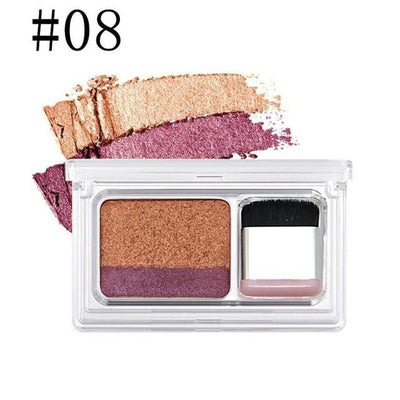 Dual Color Eye Shadow - 8