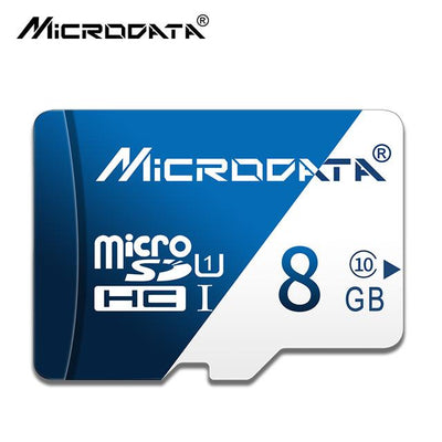Micro SD Flash Memory Card - 8 GB