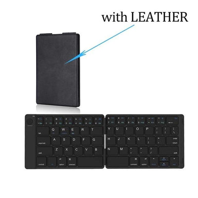 Mobile Bluetooth Mini Keyboard - With no Leather
