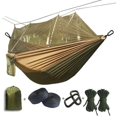 Outdoor Hammock Tent - Army green and Khaki