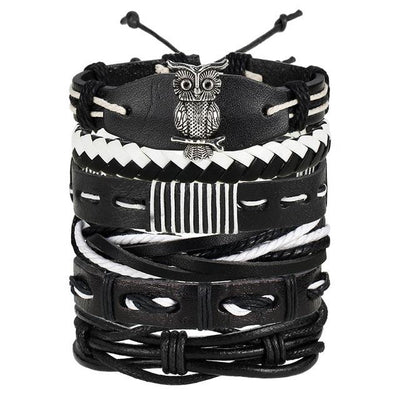 Multi-layer Leather Bracelet - 2