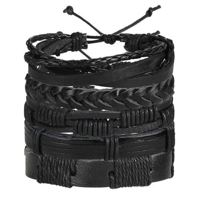 Multi-layer Leather Bracelet - 7