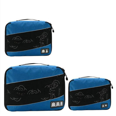 Professional Cube Packing Bags - Blue