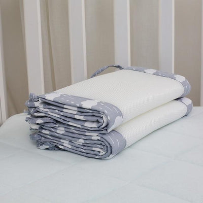 Breathable Crib Bumpers - Beige