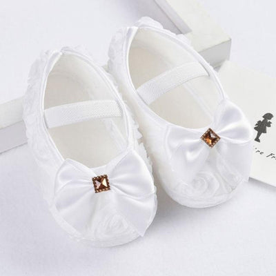 Princess Pre-Walkers Soft Shoes - White / 0 - 6
