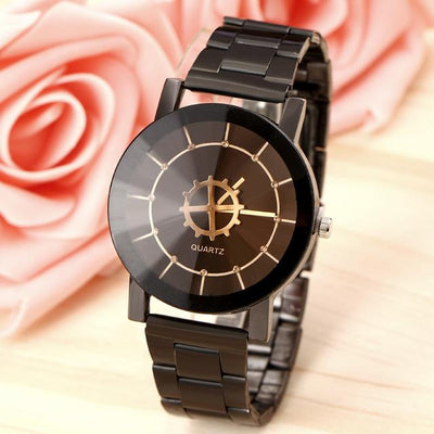 Quartz Wristwatch Bracelet - Black9