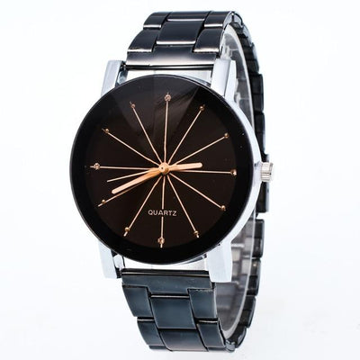 Quartz Wristwatch Bracelet - Black Black7