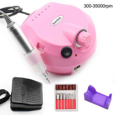 Electric nail drill - Black EU 220V
