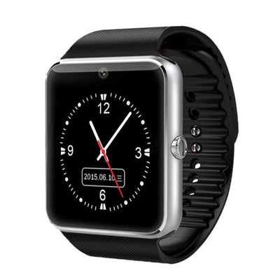 Android Watch - Black Silver