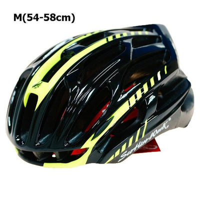 Ultralight Bicycle Helmet - Black Yellow