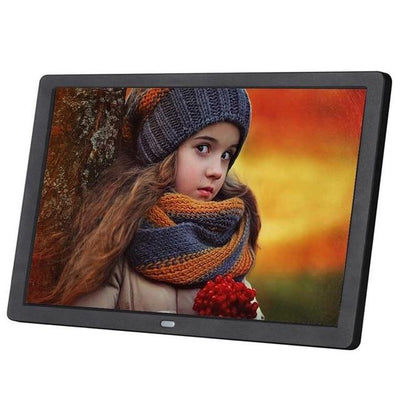HD Digital Photo Frame LED Backlit - Black