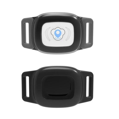 GPS Pet Collar Tracker - Black