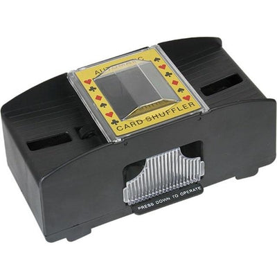 Electronic Card Shuffler - Black