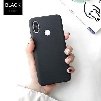 Durable Protection Silicone Case - Note 5x / Black