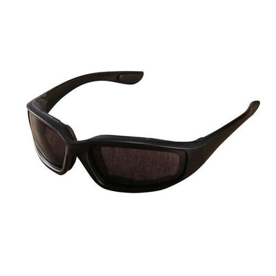 Anti-Glare Motorcycle Glasses - Black