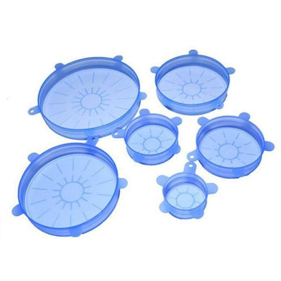 Food Container Sealed Cover - Blue