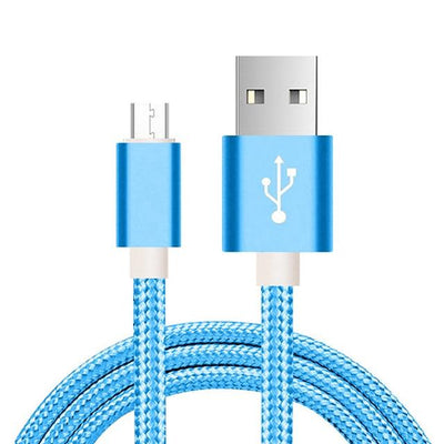 Fast Charging Micro-USB Cable - 1m / Blue