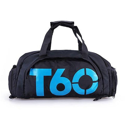 Waterproof Men Gym Bag - Blue