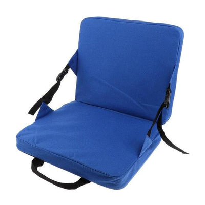 Folding Outdoor Stadium Seat - Blue