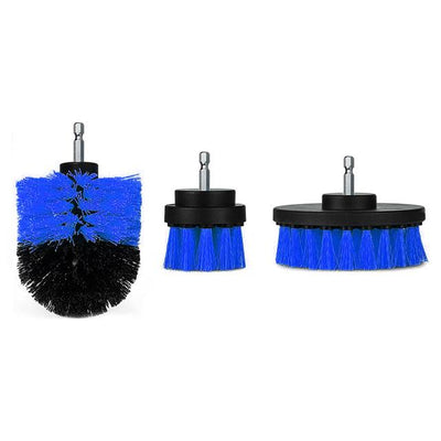 Power Scrubber Brush (1 Set) - Blue