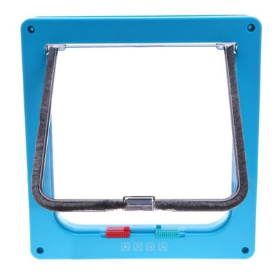 Lockable Pet Flap Door - Blue / S