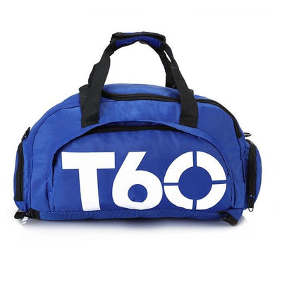 Waterproof Men Gym Bag - Bluewhite