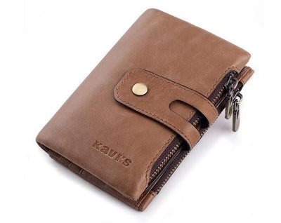 Mens genuine leather wallet - Brown