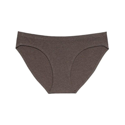 Soft Breathable Brief Set - Brown / S