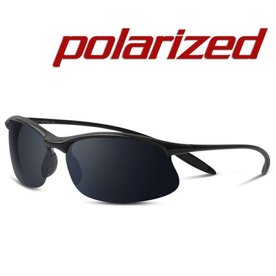 Polarized Sports Sunglasses - Black