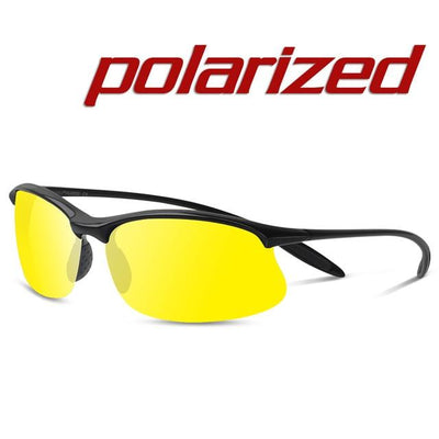 Polarized Sports Sunglasses - Night Vision Yellow