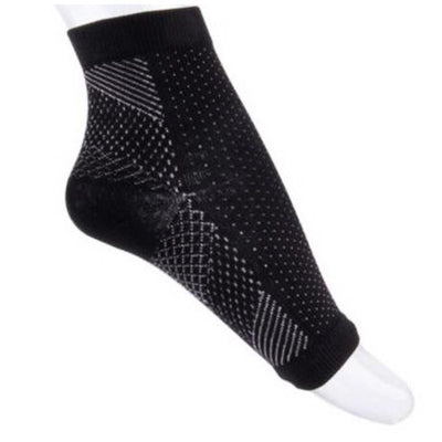 Anti Fatigue Ankle Support Sock - Black / M