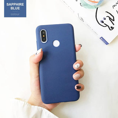 Durable Protection Silicone Case - Note 5x / Dark Blue