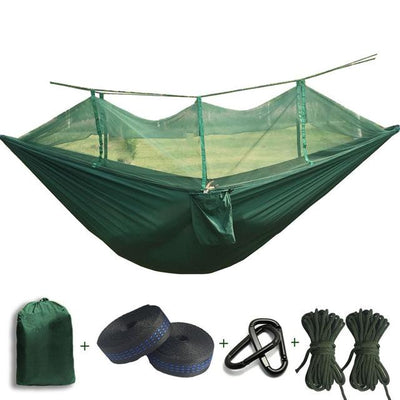 Outdoor Hammock Tent - Dark Green