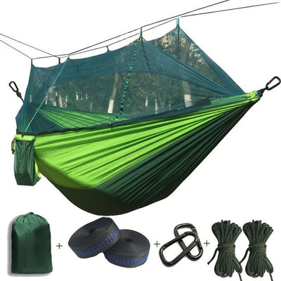 Outdoor Hammock Tent - Dark green and Green