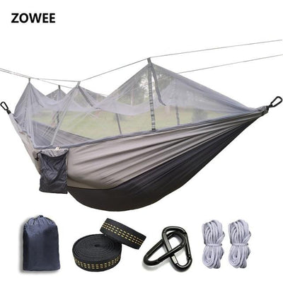 Outdoor Hammock Tent - Dark grey and grey