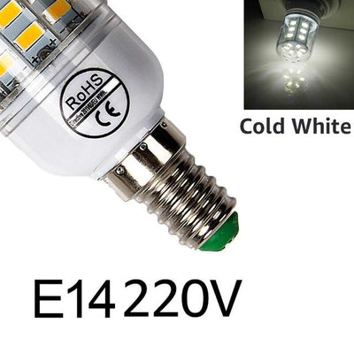 Bright LED Corn Bulb - E14cold white / 24LEDs
