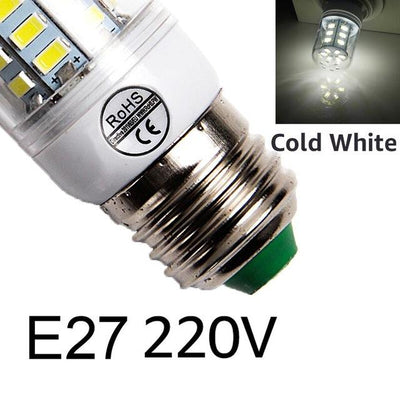 Bright LED Corn Bulb - E27cold white / 24LEDs