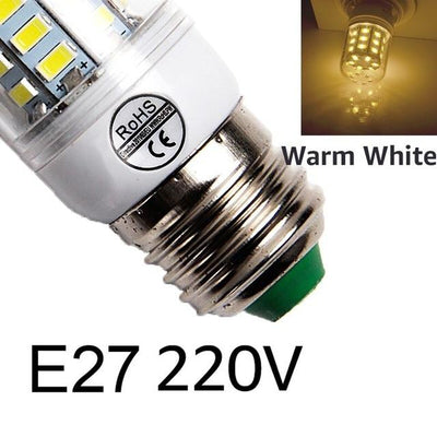 Bright LED Corn Bulb - E27warm white / 24LEDs