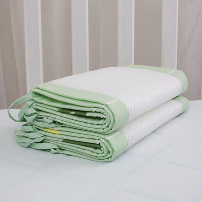 Breathable Crib Bumpers - GREEN