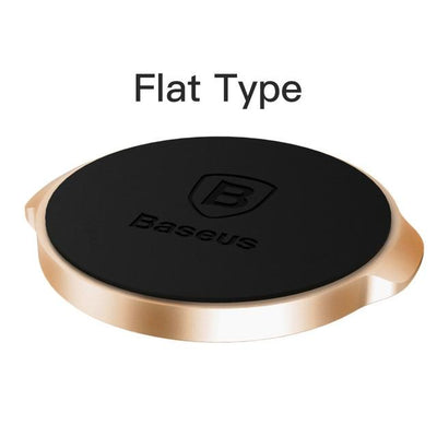 Magnetic Car Mount Phone Holder - Gold Flat