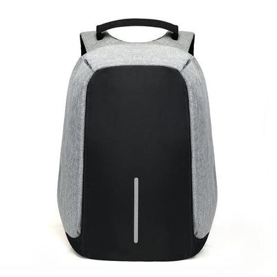 Anti Theft Backpack - Gray