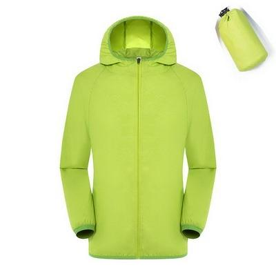 Quick Dry Waterproof  Hiking Jacket - Green / S